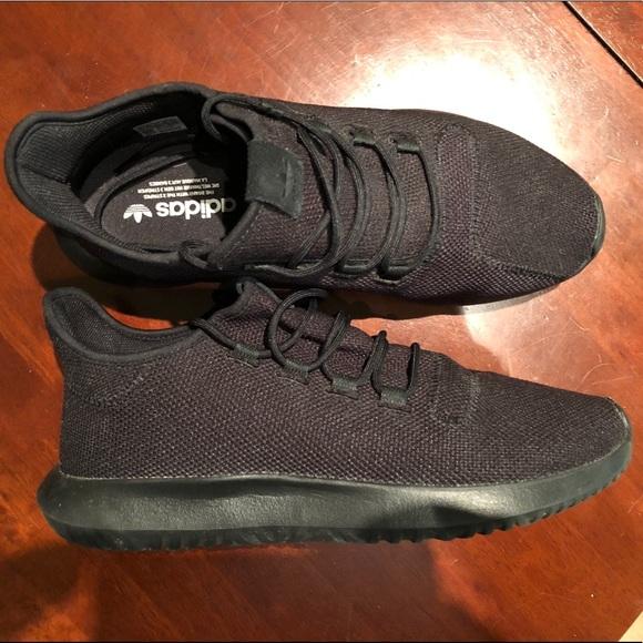 adidas schuhe (größe 12 poshmark stricken schwarze schatten